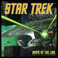 Star Trek: Ships of the Line 2019 Square Wall Calendar