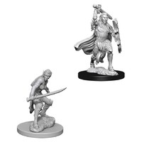 D&D Nolzurs Marvelous: Unpainted Miniatures - Female Elf Fighter