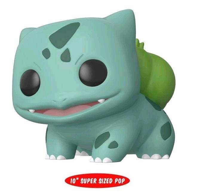 "Pokemon: Bulbasaur - 10"" Super Sized Pop! Vinyl Figure image"