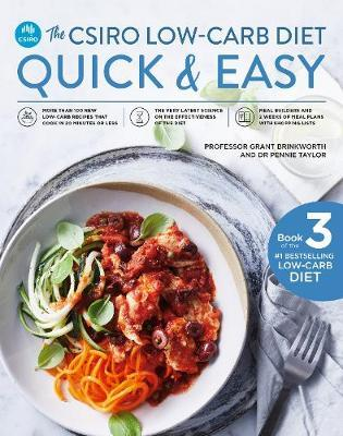 The CSIRO Low-Carb Diet Quick & Easy by Grant Brinkworth image