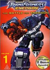 Transformers Energon - Vol 1: The Battle For Energon on DVD