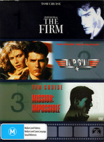 The Firm / Mission Impossible / Top Gun on DVD