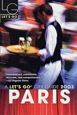 Let's Go Paris 2003 by Let's Go Inc image