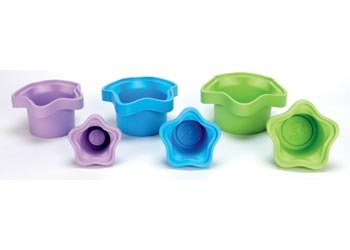 Green Toys Stacking Cups image