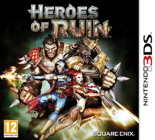 Heroes of Ruin for Nintendo 3DS image