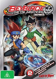 Beyblade Metal Masters - Volume 2 on DVD