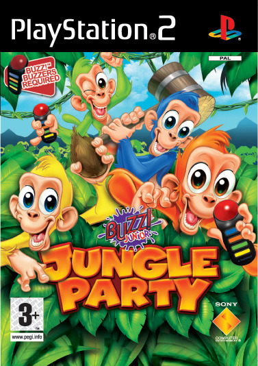 Buzz! Junior: Jungle Party (Game Only) for PlayStation 2