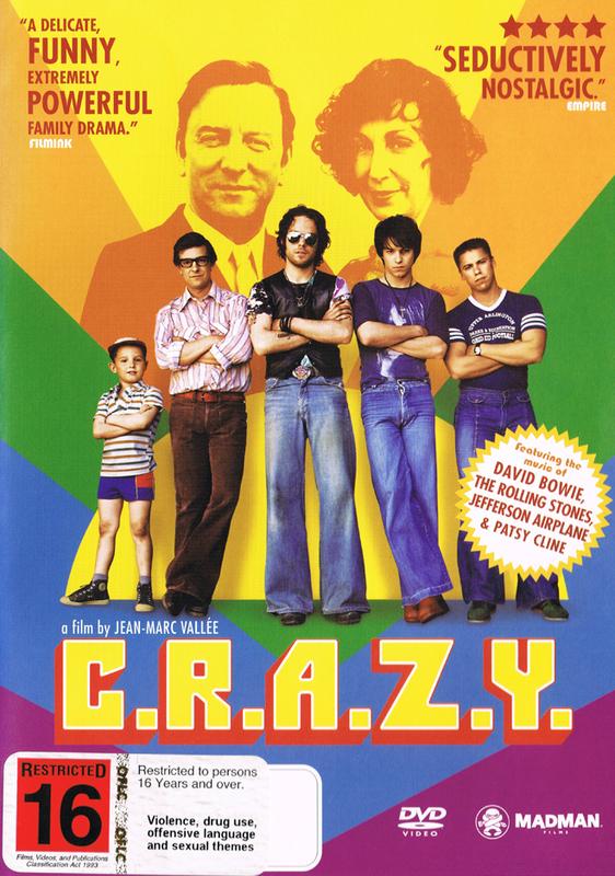 C.R.A.Z.Y. on DVD