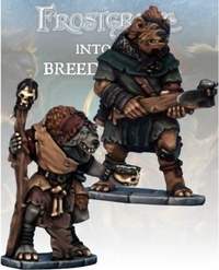 Frostgrave Gnoll Apothecary & Marksman