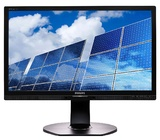 """21.5"""" Philips B Line - 5ms Brilliance LED-Backlit LCD Monitor"""