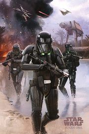 Star Wars Rogue One - Death Trooper Beach Maxi Poster (591)