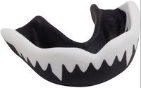 Gilbert Viper Senior Mouthguard - Black/White