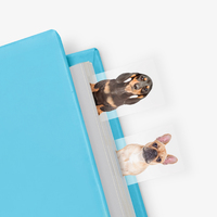 Dog in a Book Page Markers (100 Sheets)