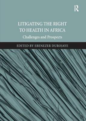 Litigating the Right to Health in Africa by Ebenezer Durojaye image