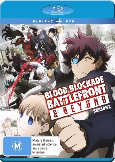 Blood Blockade Battlefront & Beyond: Season 2 on DVD, Blu-ray