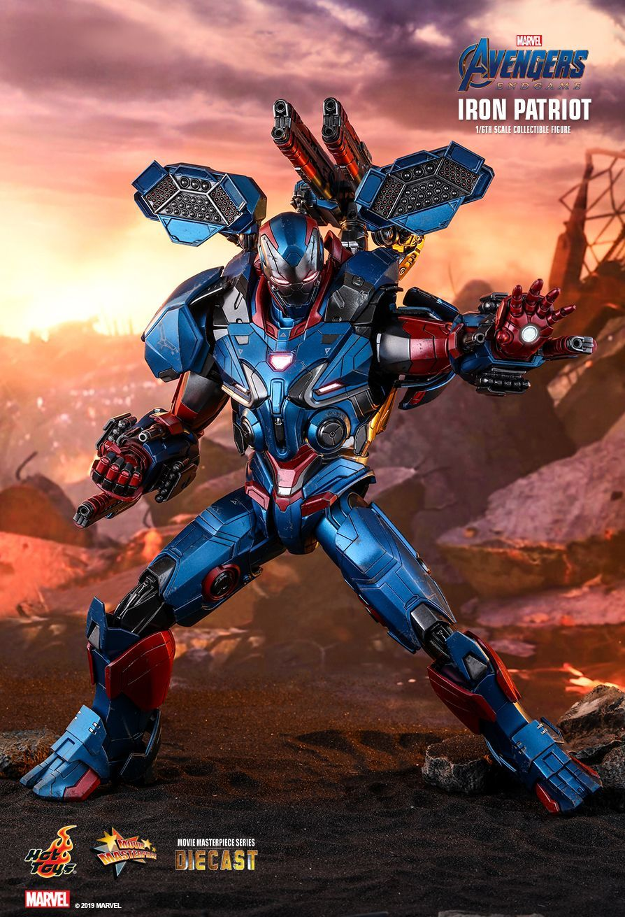"""Avengers: Endgame - Iron Patriot - 12"""" Articulated Figure image"""