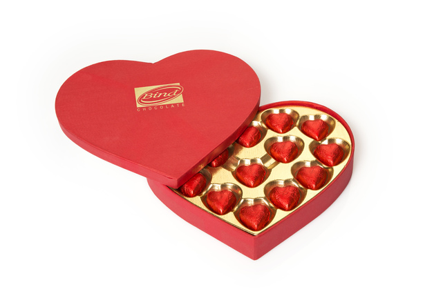 Bind Chocolates: Heart Box (225g)