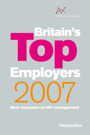 Britain's Top Employers: Best Examples of HR Management: 2007 image