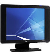 "Hewlett-Packard vp17 17"" LCD Monitor with integrated speakers"