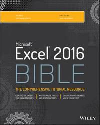 Excel 2016 Bible by John Walkenbach