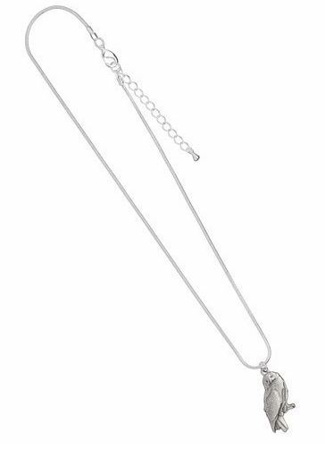 Harry Potter Pendant & Necklace - Hedwig the Owl (silver plated) image