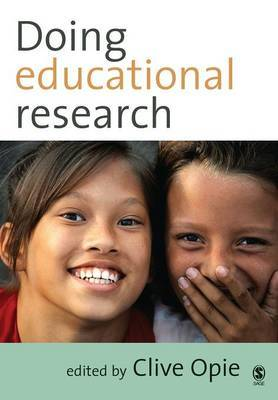 Doing Educational Research by Clive Opie image