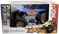 Maisto - RC Rock Crawler Monster Truck 3XL - Blue