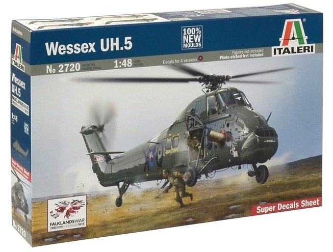 Italeri: 1:48 Wessex UH.5 - Model Kit image