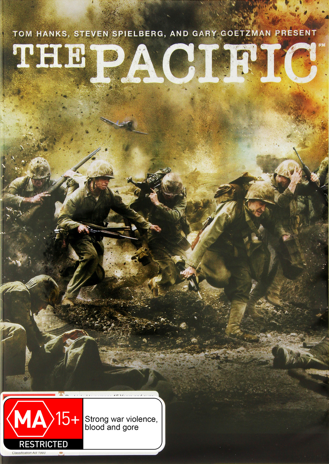 The Pacific - The Complete Mini-Series on DVD image