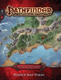 Pathfinder RPG: Hell's Vengeance Poster Map Folio
