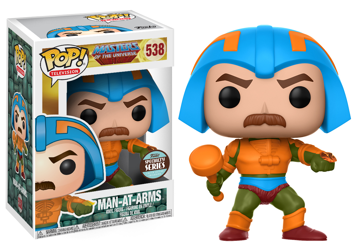 Masters of the Universe - Man At Arms Pop! Vinyl Figure image