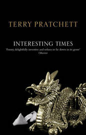 Interesting Times (Discworld - Rincewind / The Wizards) (black cover) by Terry Pratchett image