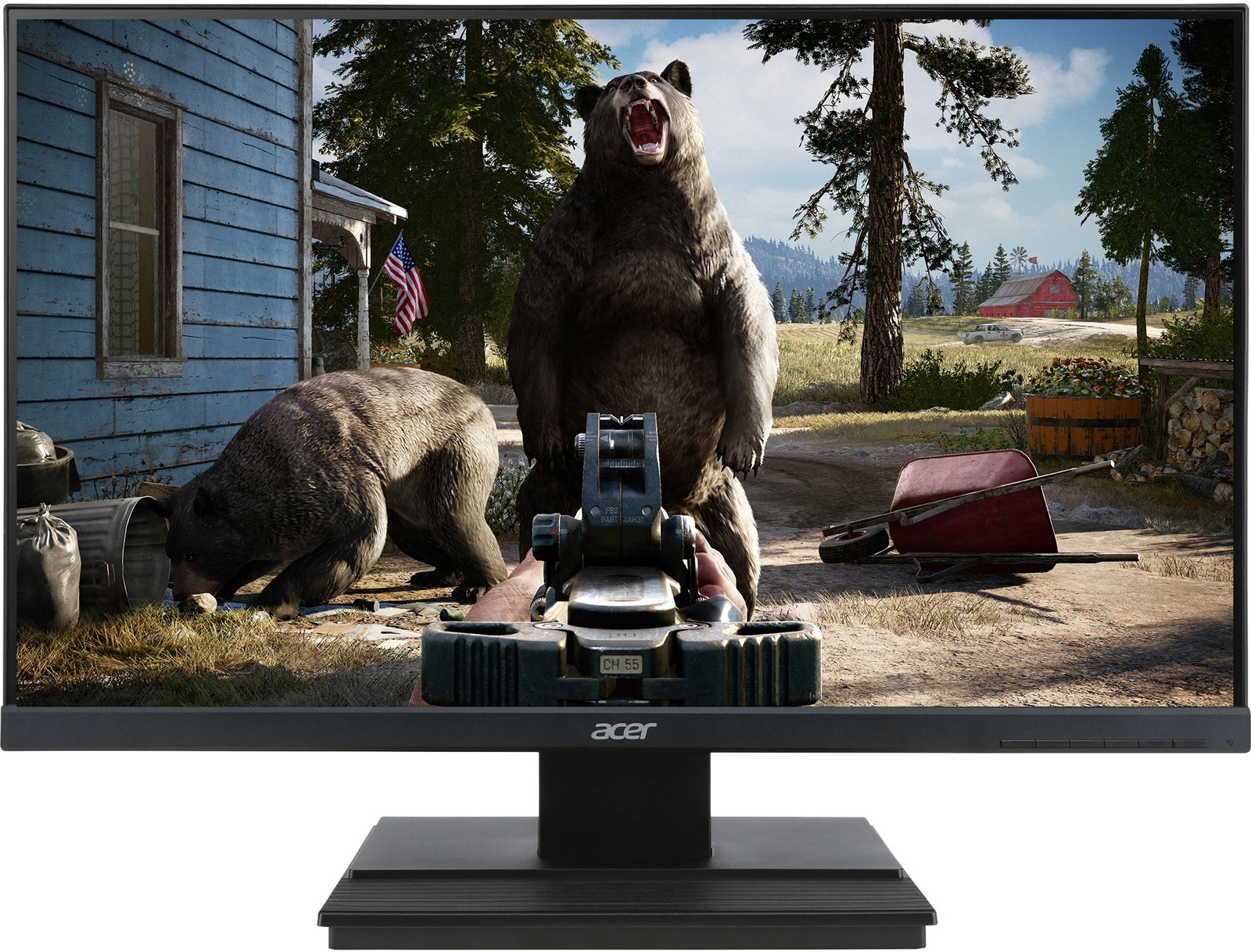 """27"""" Acer FHD 60hz 5ms Thin Bezel Monitor image"""