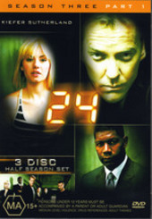 24 - Season 3: Part 2 (3 Disc Set) on DVD