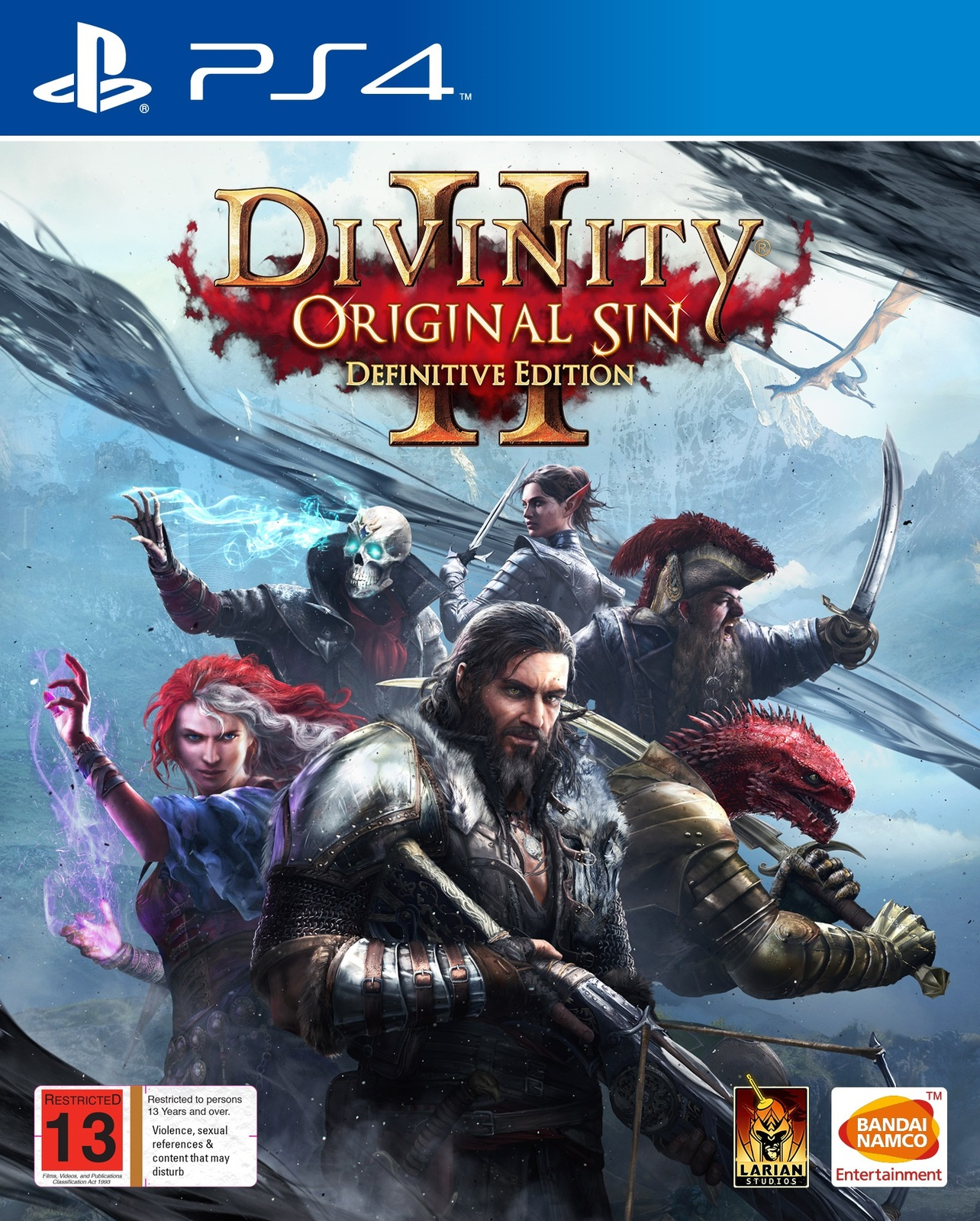 Divinity: Original Sin 2 Definitive Edition for PS4 image
