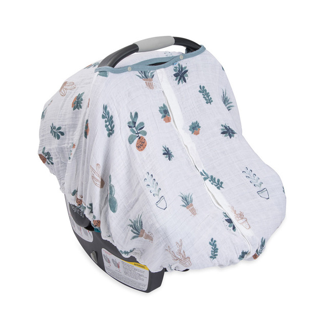 Little Unicorn: Muslin Car Seat Canopy - Prickle Pots