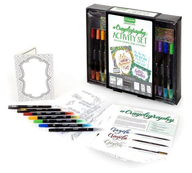 Crayola: Signature - Crayoligraphy Activity Set (45pc)