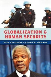 Globalization and Human Security by Paul Battersby image
