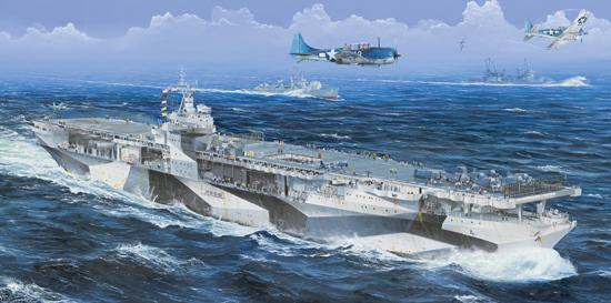 Trumpeter 1/350 USS Ranger CV-4 - Scale Model