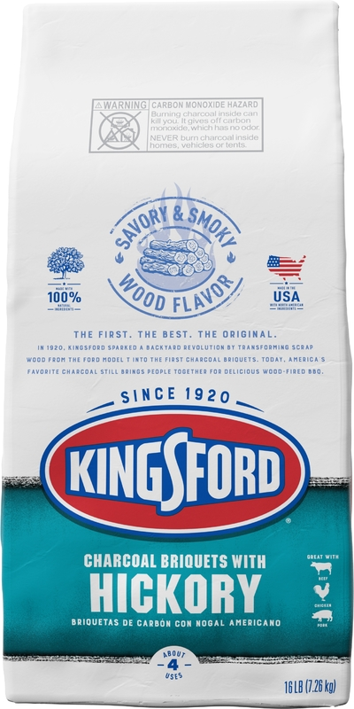 Kingsford *Hickory* Charcoal Briquettes (7.26KG)