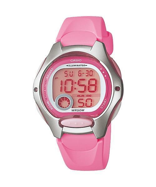 Casio Youth Digital Series Watch Pink - LW-200-4BVDF