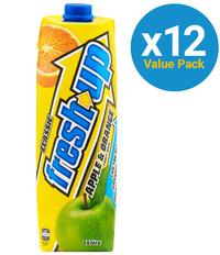 Fresh Up Prisma Apple & Orange 1L (12 Pack)