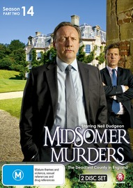 Midsomer Murders - Season 14 Part 2 on DVD image