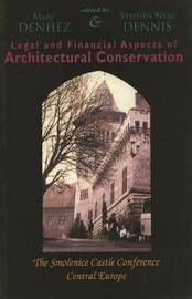 Legal & Financial Aspects of Architectural Conservation image