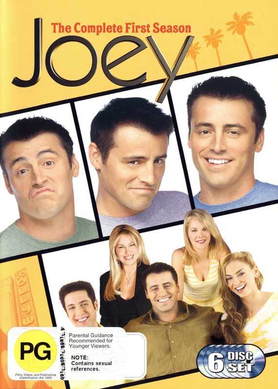 Joey : The Complete First Season (6 Disc) on DVD