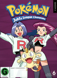 Pokemon - Season 4: Johto League Champions on DVD image