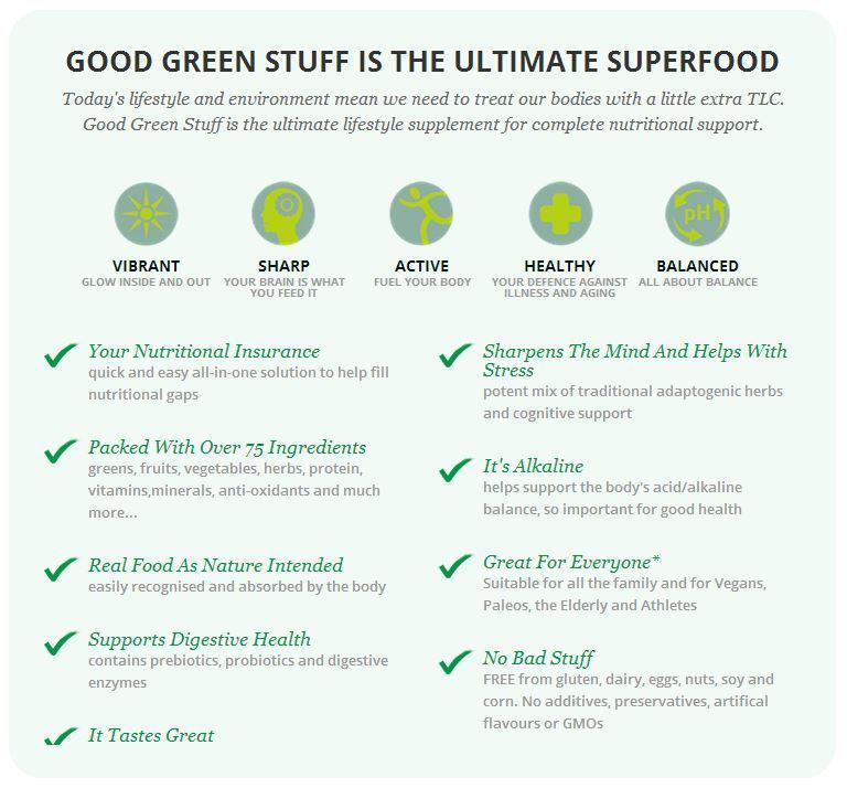 Good Green Stuff - 10x10g Sachets image