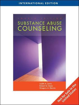Substance Abuse Counseling, International Edition by Robert Dana image