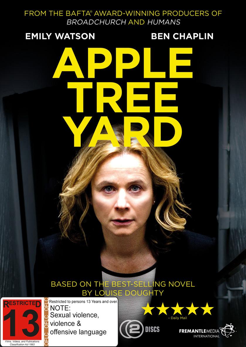 Apple Tree Yard on DVD image