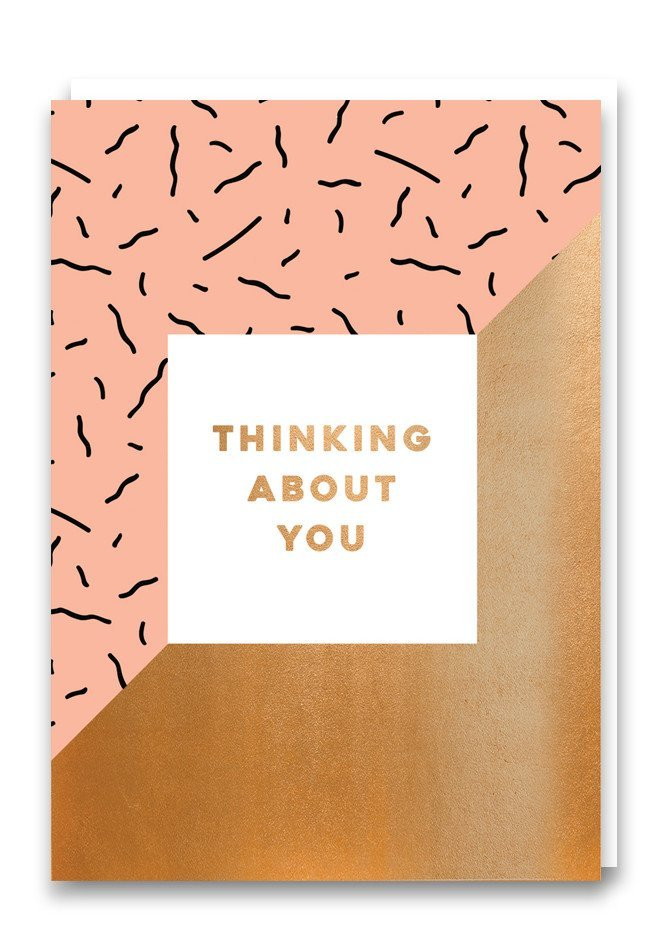 Nineteen Seventy Three: Thinking About You - Greeting Card image